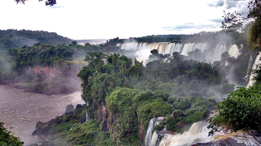 Cataratas De Iguazú Argentina Misiones, Argentina Nature Landscape Tree Outdoors Social Issues Sky Beauty In Nature Mountain No People Day