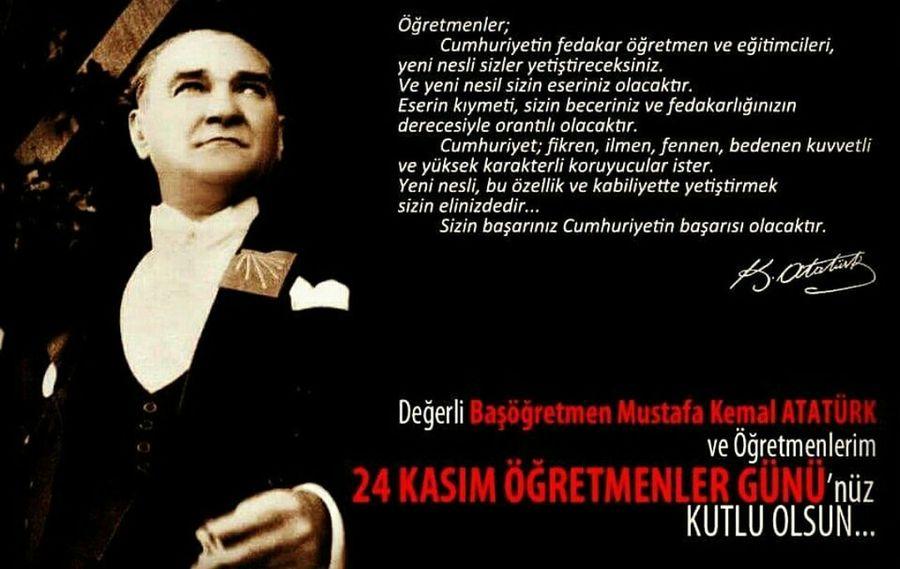 24kasim 24KasimOgretmenlerGunuKutluOlsun Ogretmenlergunu Istanbuldayasam Atatürk Basogretmen Türkiye Uskudar World Istanbulove
