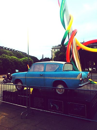 Harry Potter Exhibition Milano Cadorna Harry Potter And The Chamber Of Secrets Ford Anglia The Flying Car Harry Potter Sky Retro Styled