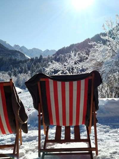 deck chair in