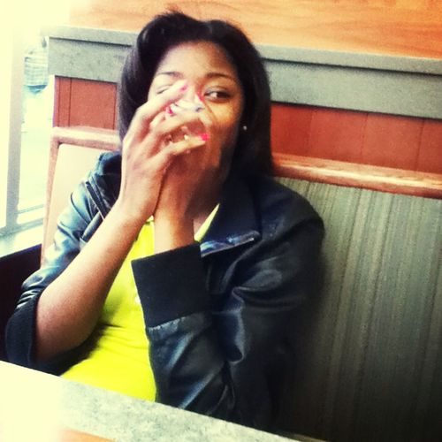Lol Tiana Didnt Wanna Take The Picture