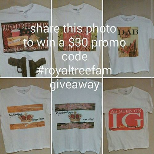 Royaltree checkout @royaltree for this promo contest