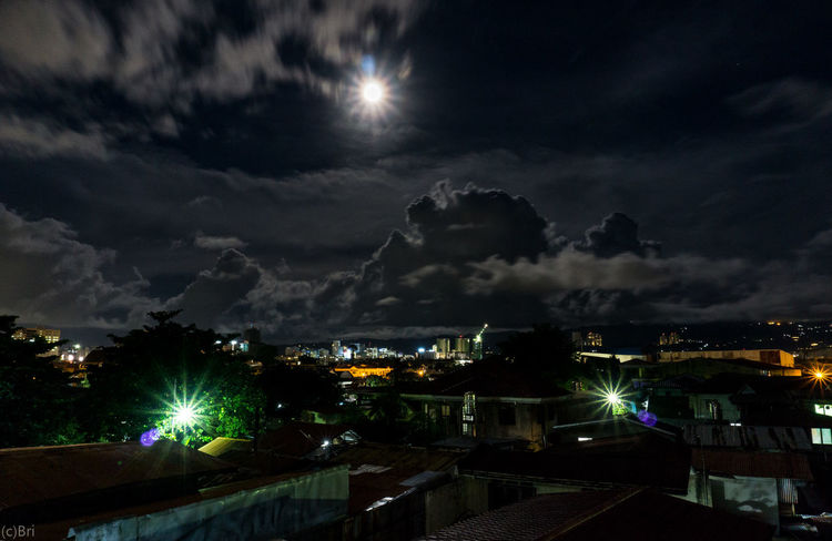 Distance Night Outdoors City Illuminated Sky No People Landscape Sony A6000 Long Exposure