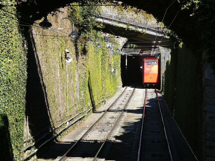 Be. Ready. Transportation Public Transportation Beautiful Day Nature Funicular Railway Funicolare Città Alta BG Bergamo Italia Italy🇮🇹