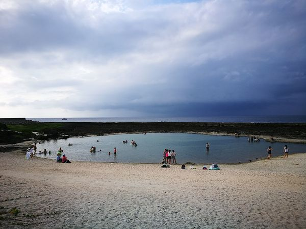 Beach Peace And Quiet Samesexmarriage Water Coastline Love New Life Togetherness Clean Greenisland Pacific Ocean Taiwan Taitung,taiwan Islandlife Nature Pure Bluewater Summertime People Gaycouple