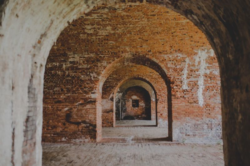 Arch Architecture Built Structure History Building Old The Past No People Day Wall - Building Feature Wall Building Exterior Brick Outdoors The Way Forward Direction Travel Destinations Weathered Arched