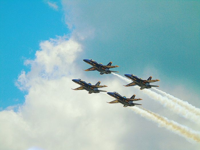 Blue Angels & Blue Skies Blue Angels 2016 National Cherry Fest Feel The Journey US Navy Blue Angels Blue Angels High Performance EyeEm Best Shots Eye Em Best Edits EyeEm Best Edits Eye Em Best Shots EyeEmBestPics