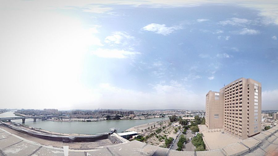 Baghdad Medical City Hospital River Tigris River Panaroma Mycity EyeEm Best Shots From The Rooftop Middleeast