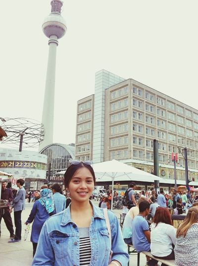 Berlin Market Alexanderplatz Girl