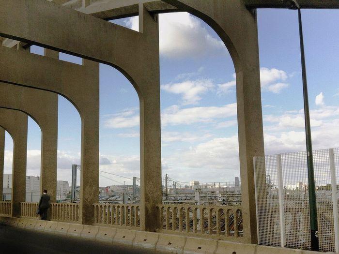 View of bridge against sky