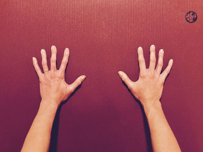 Gripping Hands Yoga Hands Yoga EyeEm Selects Human Hand Human Body Part Human Arm Studio Shot Palm