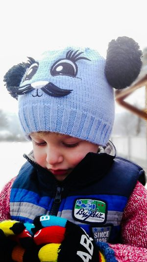 Pipirig Neamti Bebe Brother Frate Romania focus Child Children Only One Person Childhood Males  Knit Hat Looking Down Cute Innocence One Boy Only People Close-up Warm Clothing Outdoors Day First Eyeem Photo