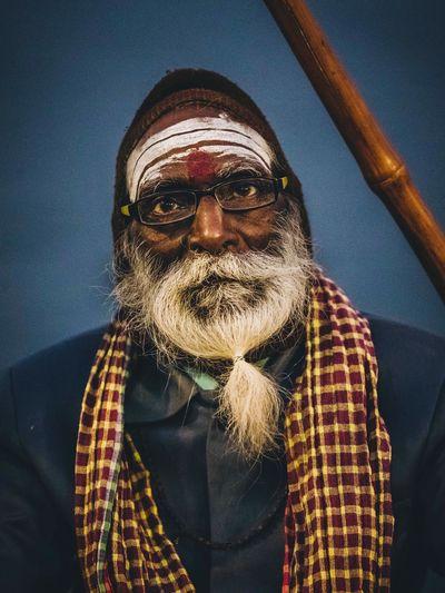 Sadhu in Varanasi Ghat Sadhu Sacred Portraiture Portraits Portrait Photography Travelphotography Travel Photography Travelling Photography Travel Man Ganga River Ghat UttarPradesh Uttar Pradesh Varanasi India One Person Front View Glasses Lifestyles Fashion Real People Facial Hair Portrait Men Looking At Camera Beard Adult Waist Up Scarf