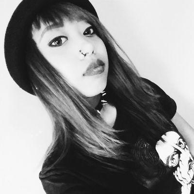 Scenegirl  Black & White Scenekid Asian  Drop Dead Clothing