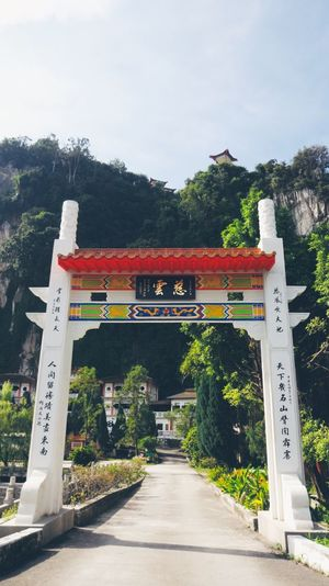 Ipoh Temple Chinese Hill Cave Rock Silent Walking Morning High View