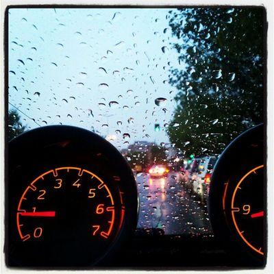 Smarting in the rain!!!