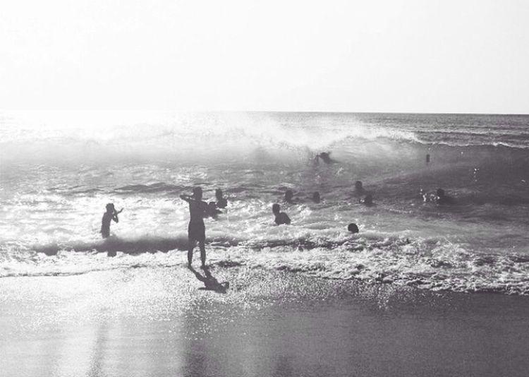 Life Is A Beach in Greece Blackandwhite