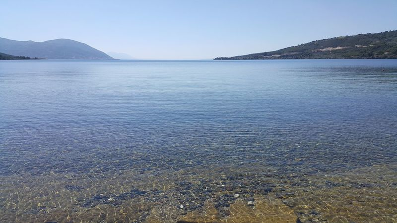 Only clear watter ... Watter_collection Beauty In Nature Sea Landscape Tranquility No People Clear Sky Horizon Over Water Gialtra Beach Evia Greece