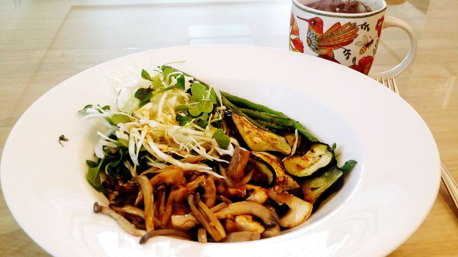 Ma Lunch Mushroom Salad Loveit