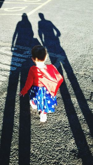 Little wonder woman growing up with support and love to be strong and powerful Women Around The World Sunlight Shadow Childhood Focus On Shadow Child Outdoors Real People Day Babyhood Strong Woman Wonder Woman Wonder Baby Love Loved Parents Girl Power Courage Women Little Woman EyeEmNewHere Break The Mold