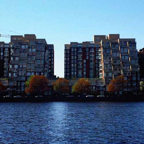 Boston Apartment Buildings Architecture Waterfront Clear Sky City Apartment Day Outdoors