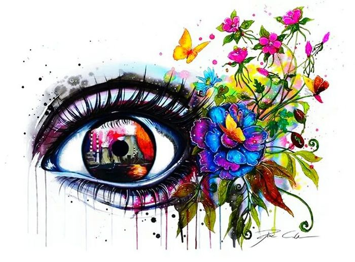 Change Colors Eyes