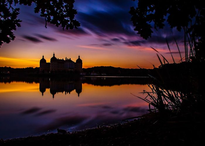 sunset at the castle Moritzburg Romantic Beautiful Sky Eye4photography  EyeEmBestPics EyeEm Best Edits Moritzburg  Schloss Moritzburg Schloss Castle Castle View  Reflections In The Water Reflection_collection Sunset_captures Sunsetlover Saxony Sachsen Germany Deutschland EyeEm Best Shots EyeEm Nature Lover EyeEm Selects EyeEm Gallery Sunset Reflection Romantic Sky Dramatic Sky Idyllic Tranquil Scene Scenics Tranquility