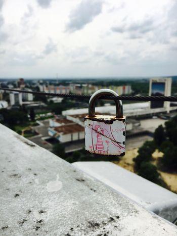 IPhoneography Padlock Love Bratislava Bratislava, Slovakia May Weekend See The World Through My Eyes Mypointofview Sightseeing