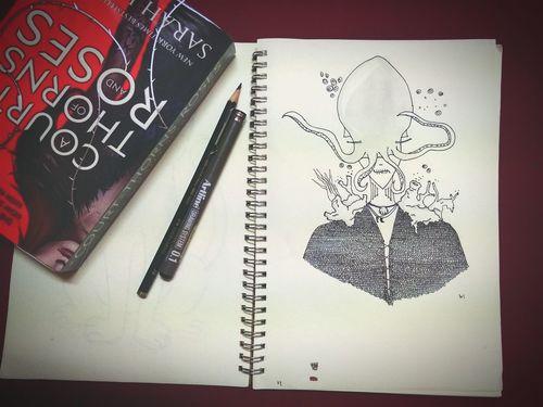 Check This Out Art, Drawing, Creativity Artline Doodle Eyeemgallery EyeEmEyeEmEyeEmide A Freestyle ArtWork Illustration Idea