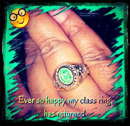 Class Ring My Class Ring 1990 Jewelry One Of My Favorite Things