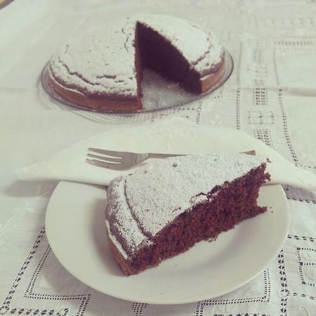 Vegan Chocolate cake!!! @solozuccheriacolazione.altervista.org Desserts Foodporn Cake Chocolate Cake