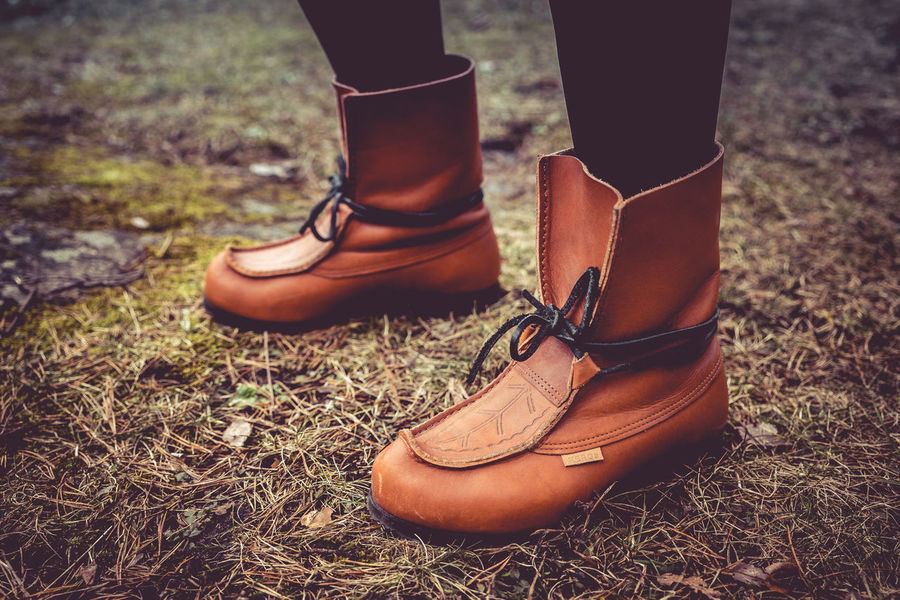 Boots on the grass Boots Fashion Fashion Photography Kero Leather Shoe Shoes Vintage