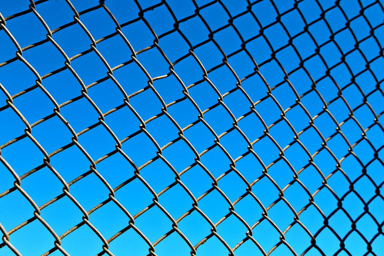 Metal Background Web Abstract Sky Old Blue Design Pattern Steel Iron White Texture Space Structure Black Metallic Net LINE Industrial Grid Lattice Grate Color Symbol Close Dark Board Perspective Cross Gate Grilled Railing Regular Empty Prison Grille Reseau Grillage Element Building Wall Border Bars Concept Gray Dirty Rusty Blur Defocused