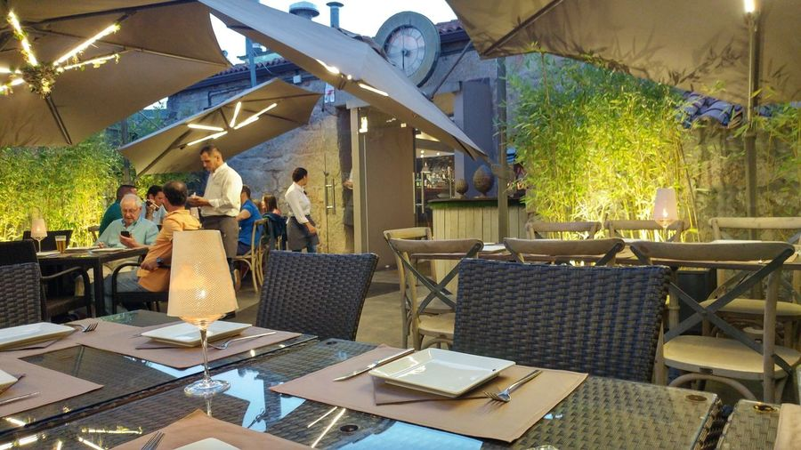 Bar - Drink Establishment Food And Drink Outdoors Sitting People Building Exterior Bar El Reloj Navacerrada