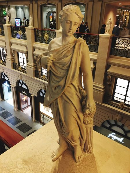 Statue Sculpture Human Representation Spirituality Religion Indoors  Architecture No People Day