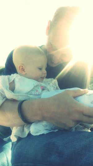 My Beautiful Niece with her Dotting Father Fatherhood Moments Daddy Love Bonding Togetherness Family Lens Flare Daughter Daddyslittlegirl Perfect Moment Memories Of Childhood Memories Perfect Memory Softness Fresh On Eyeem