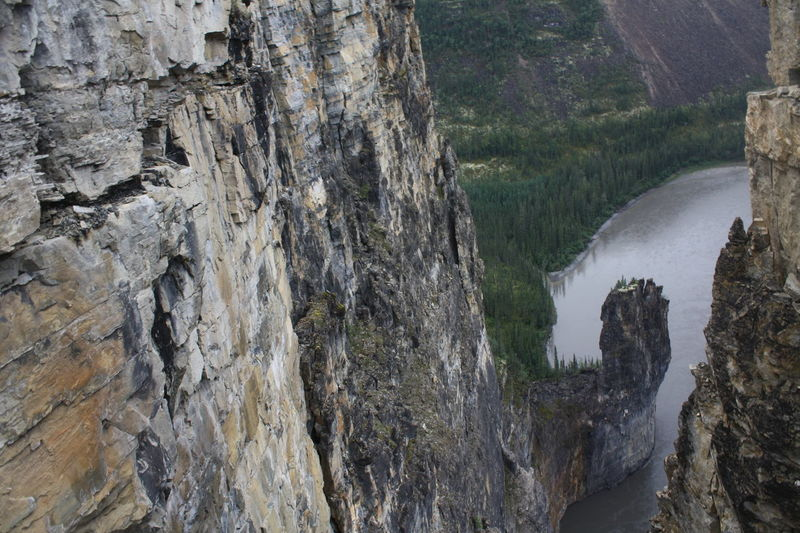 Canoe Canoeing National Park Nature Northwest Territories Sunny UNESCO World Heritage Site Beauty In Nature Canada Canon Cirque Of Unclimbables Day Groundhog Incredible Mountain Mountain Range Nahanni Nature Northern Canada Outdoors Paddling Parks Canada River Scenics White Water