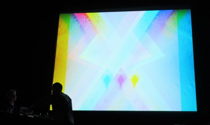 Ulrich Schnauss @ CCA (Visuals by Nat Urazmetova) - Glasgow 22/03/2017 Ulrichschnauss Naturazmetova Visuals Electronic Ambient Idm Backgrounds Black Background Downtempo Cca Multi Colored Tangerinedream Producer Berlin Beauty Live German Gig Glasgow  Concert Music