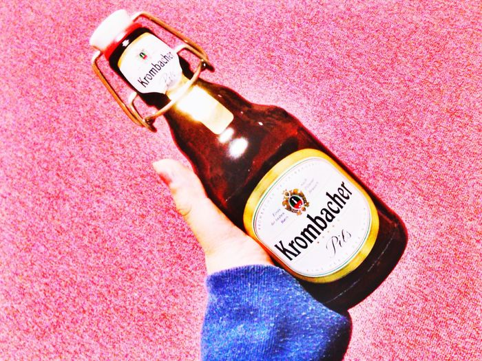 Beer Krombacher Germany Lecker