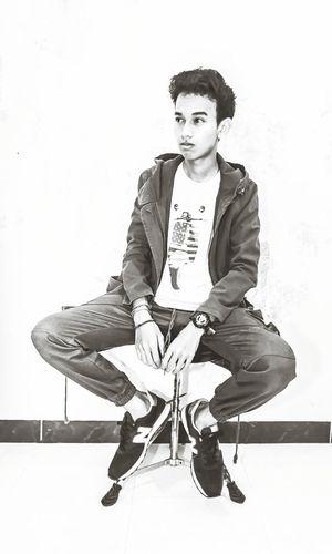 Old School banget parka x joggerpants x NB