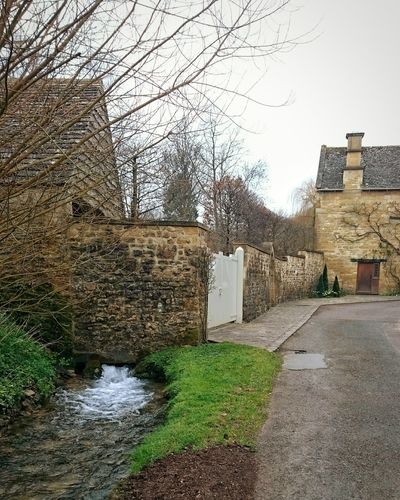 Country Road Countryroads Old Buildings Stream Streams Cotswolds Stone Wall Stones & Water Gates Grass Grassy