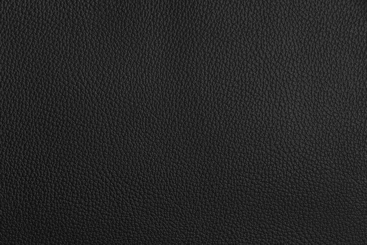 Textured  Backgrounds Textile Material Close-up Pattern Black Color Leather Dark Blank Background