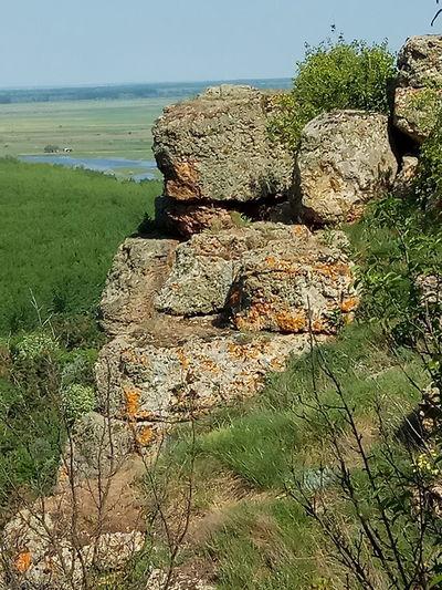 Nature - rocks Rock Rocks Water Sea Sky Grass