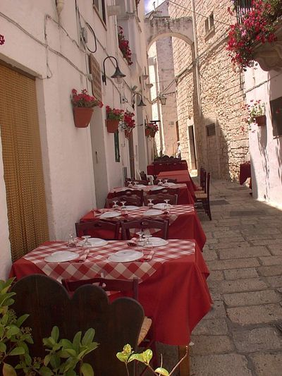 Cisternino in Puglia Puglia South Italy Table History Red Architecture Window No People Outdoors Tourism EyeEmNewHere Day EyeEm Gallery Italy