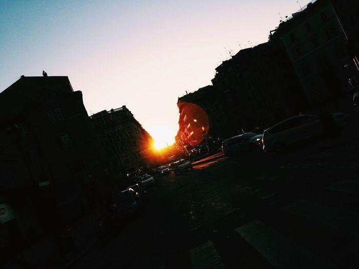 Sunset InRome 🌅