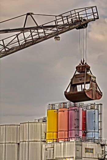 No People Industry Sky Outdoors Colors Bagger Baggerschaufel Silo Germany🇩🇪 GERMANY🇩🇪DEUTSCHERLAND@ Architecture Industry HDR Hdr_Collection HDR Collection Hdrphotography