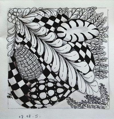Zentangle Zentangle Drawing Art I Love Art Pen & Paper My Art Skwirrel Heaven