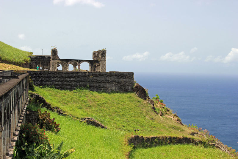 Old Fort Architecture Built Structure Caribbean Island Caribbean Sea Forts History Military Old Buildings St. Kitts Structures Travel Destinations Vacations