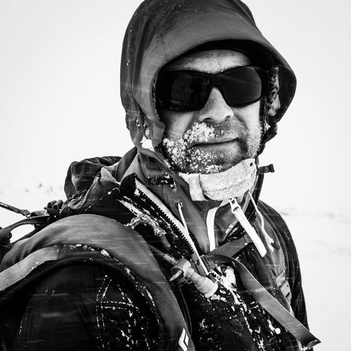 Nordic Light Winter Adult Adventure Backcountry Skiing Black And White Clothing Focus On Foreground Front View Glasses Leisure Activity Lifestyles Looking At Camera Males  Men Mid Adult Off Piste One Person Outdoors Portrait Real People Skier Snow Warm Clothing Wilderness The Portraitist - 2018 EyeEm Awards