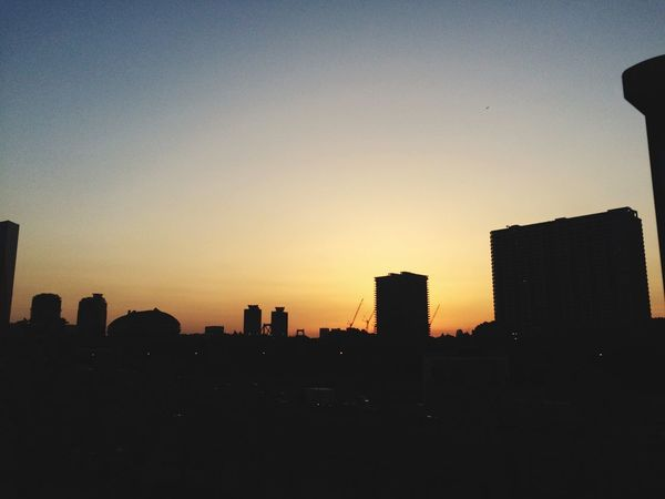 like this weather of these days.. Sunset Sunset_collection Tokyo Tokyo Sky Good Weather Chilling